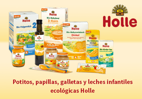 Potitos, papillas, galletas y leches infantiles ecológicas Holle