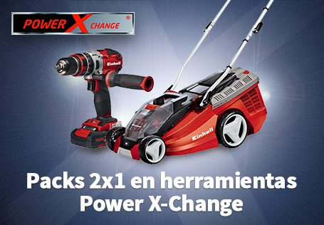 Packs 2x1 en herramientas Power X-Change