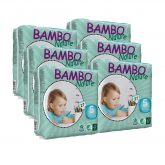 Pack Pañal Bambo junior T5 12-22Kg 162 ud