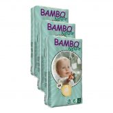 Pack Pañal Bambo midi T3 (5-9Kg), 198ud