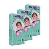 Pack Pañal Bambo T6 XL Plus 16-30 Kg 132ud