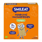 Cracker multi cereais biológicos Smileat 60 g