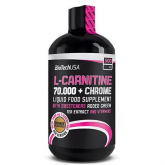 L-Carnitine + Chrome For Her BiotechUSA 60 cápsulas