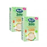 Pack 2x Papilla Multicereales BIO Hero Baby, 300 g