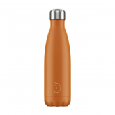Botella Inox Chilly's Naranja Mate 500 ml
