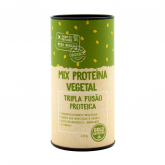 Proteína vegetal mix con banana en polvo Eco Gold Nutrition 125 g