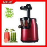 Extractor de zumos F-9010 Greenis, color rojo