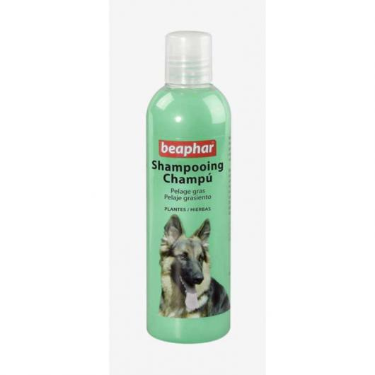 Champú herbal para pelaje graso, 250 ml