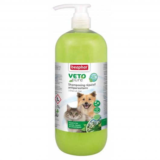 Shampooing répulsif antiparasitaire, 1 L
