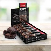 Pack de 12 barritas Zero Prozis 35 g Brownie de Chocolate