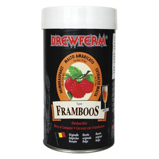 Kit de ingredientes Framboos - Frambuesas Brewferm