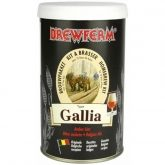 Kit de ingredientes Gallia - Cerveja âmbar Brewferm
