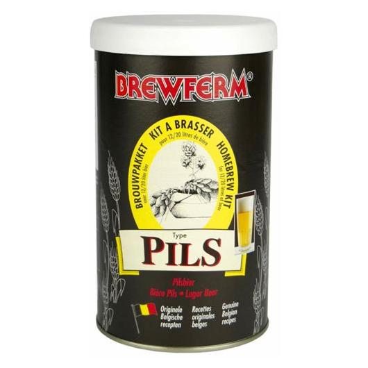 Kit de ingredientes Pils - Cerveza Dorada Brewferm