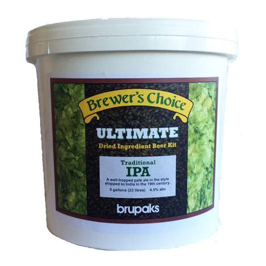 Kit de ingredientes Traditional IPA - Ultimate - Brupaks