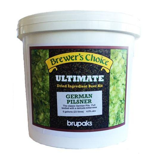 Kit de ingredientes German Pilsner - Ultimate - Brupaks