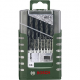 Kit de 19 brocas Bosch HSS-R para metal