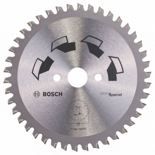 Disco multimateriale Bosch per sega circolare 150 x 20/16 mm 42 denti