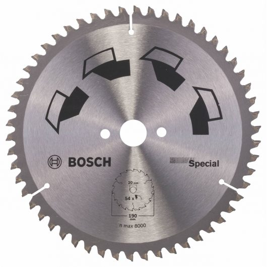 Disco multimateriale Bosch per sega circolare 190 x 20/16 mm 54 denti