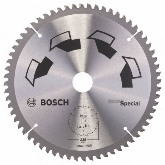 Disco multimateriale Bosch per sega circolare 235 x 30 mm 64 denti