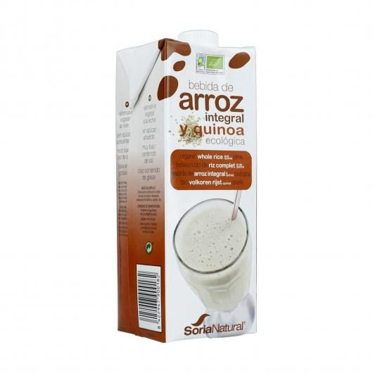 Pack 3x1 L Leche de Arroz Integral y Quinoa Eco Soria Natural