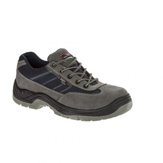 Scarpe antinfortunistiche New Subway Ohio S1P SRC GRIGIO - BLU SCURO J'Hayber