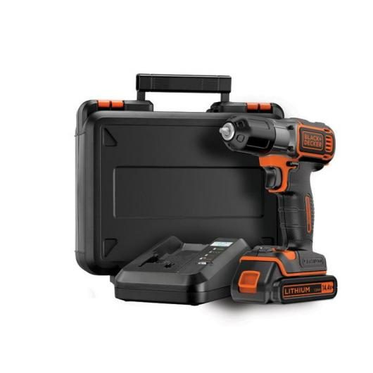 Perceuse-visseuse 14,4 V Autosense Black & Decker ASD14K-QW