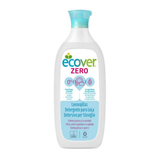 Detergente manual loiça ZERO Ecover, 750 ml
