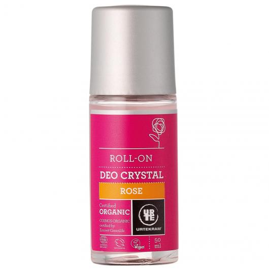 Deodorante Roll-On alle Rose Urtekram, 50 ml