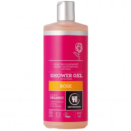 Gel da bagno alle Rose Urtekram 500 ml