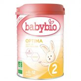 Lait de transition n°2 babybio, 900 g