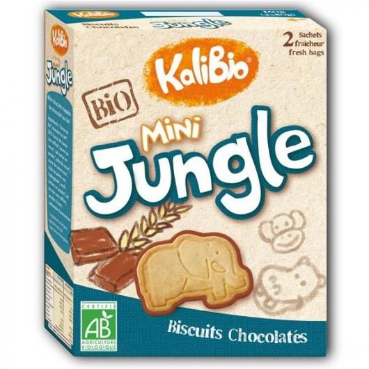 Bolachas mini Jungle Kalibio, 160 g
