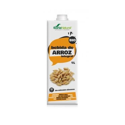 Pack 3x1L Bebida de Arroz Integral, Soria Natural