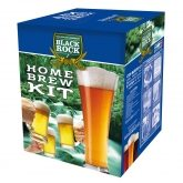 "Kit elaborazione birra con ingredienti ""Black Rock"" Lager"
