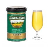 "Kit ingredienti ""Black Rock"" birra tipo Lager"