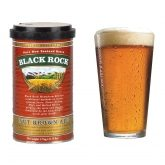 "Kit de ingredientes ""Blac Rock"" Nut Brown Ale cerveja tipo Brown Ale"