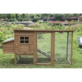 Lyon wooden chicken coop