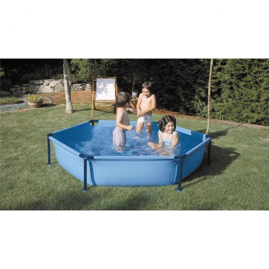 Piscina tubular hexagonal 215 x 45 cm Gre