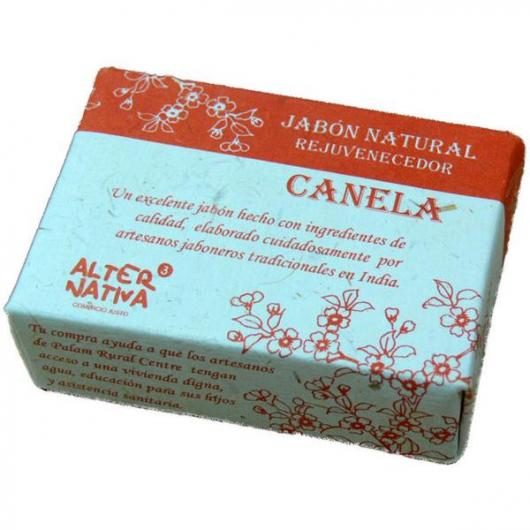Savon à la cannelle India Alternativa, 100 g
