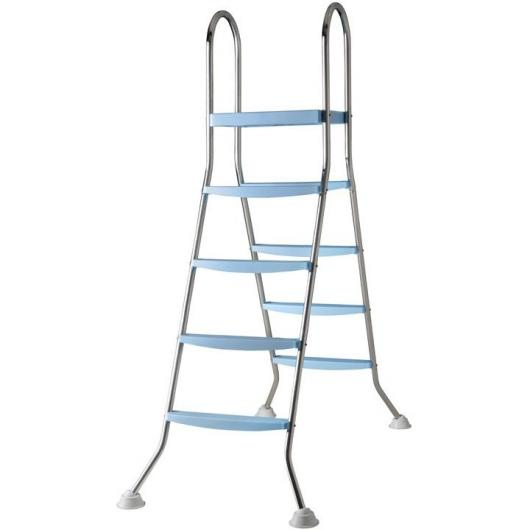 Escalera de acero inoxidable 142 cm Gre