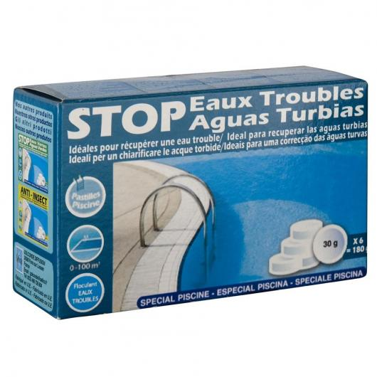 Stop aguas turbias 180 g Gre