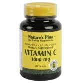 Vitamine C 1000 mg Nature's Plus, 60 comprimidos