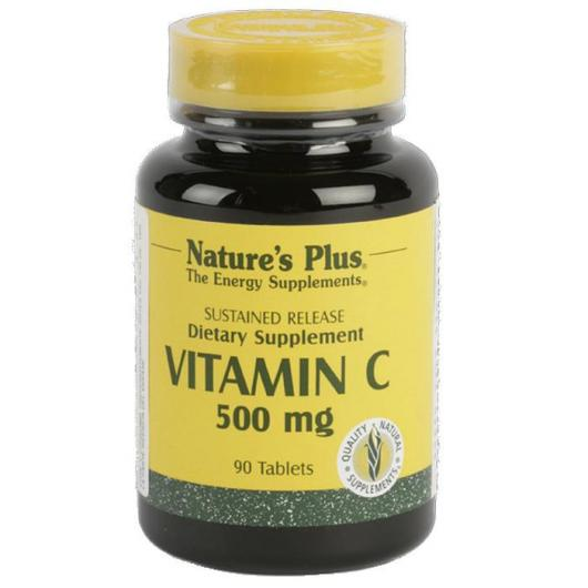 Vitamina C 500 mg Nature's Plus, 90 comprimidos