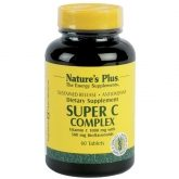Super C Complex Nature's Plus, 60 comprimidos