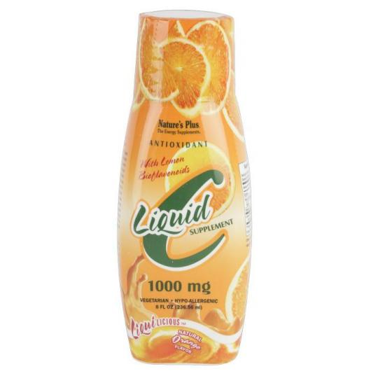Liquilicious Vitamine C Nature's Plus, 236 ml