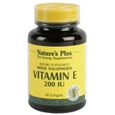 Vitamina E 200 UI Nature's Plus, 90 perlas