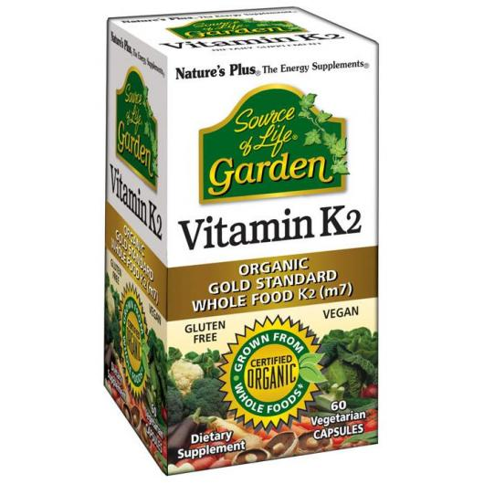 Vitamina K2 Garden Nature's Plus, 60 comprimidos