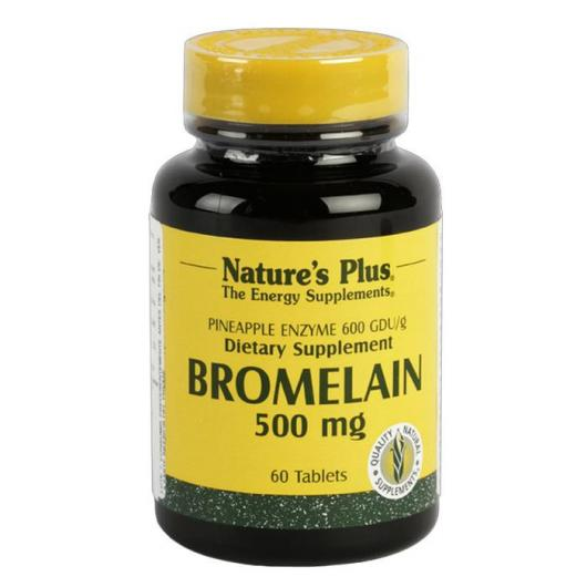 Bromelaina 500 mg Nature's Plus, 60 comprimidos