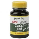 Ultra CoQ10 100 mg Nature's Plus, 30 gélules