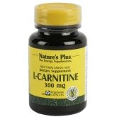 L-Carnitina 300 mg Nature's Plus, 30 cápsulas