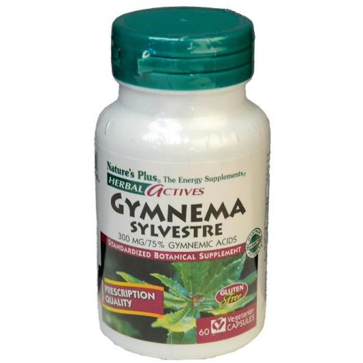 Gymnema Sylvestris Nature's Plus, 60 gélules